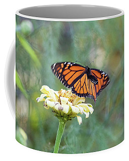Coffee Mug featuring the photograph The Monarch Has Arrived by Brian Hale