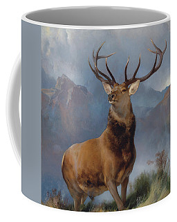 The Monarch Of The Glen Coffee Mug