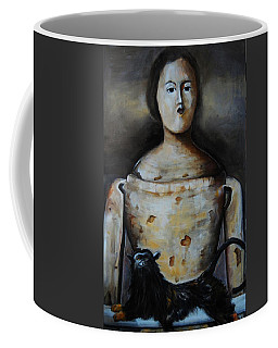 The Monkey And The Mannequin Coffee Mug