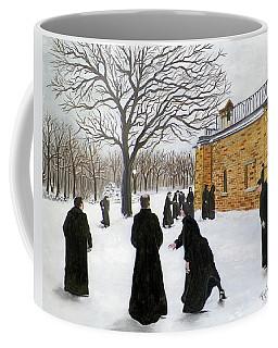 The Monks Of Clear Creek Abby Coffee Mug