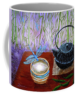 The Moon In A Teacup Coffee Mug by Laura Iverson