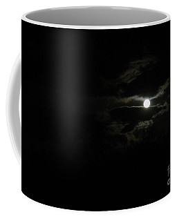 The Moon In Between Coffee Mug