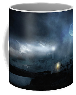 The Moon Touches Your Shoulder Coffee Mug