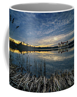 The Moritzburg Castle Is A Baroque Palace In Moritzburg In The German State Of Saxony. Saxony, Germany. Coffee Mug