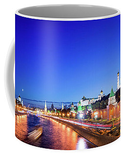 Coffee Mug featuring the photograph Moskva River by Delphimages Photo Creations