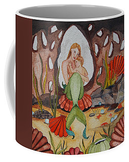 Coffee Mug featuring the painting The Most Precious Treasure by Virginia Coyle