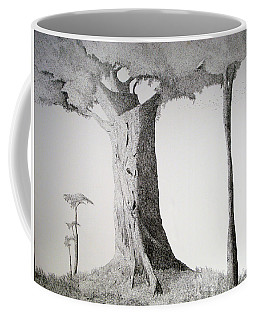 Coffee Mug featuring the painting The Mother Lode by A  Robert Malcom