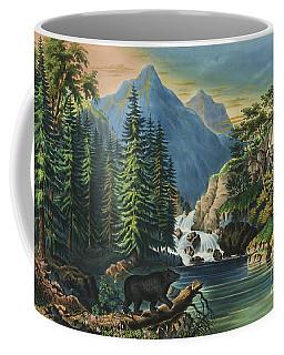 The Mountain Pass Sierra Nevada, 1867 Coffee Mug