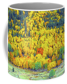 The Multitudinous Array Of Colors In Our Nearby National Forest  Coffee Mug