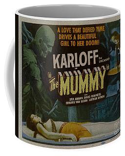 The Mummy 1929 Poster Boris Karloff Coffee Mug
