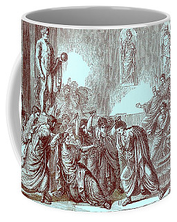 The Murder Of Julius Caesar Coffee Mug