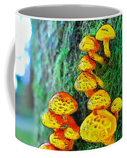 The Mushroom 12 - Da Coffee Mug