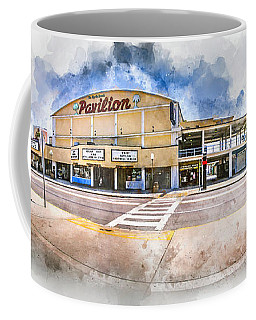The Myrtle Beach Pavilion - Watercolor Coffee Mug