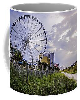 The Myrtle Beach, South Carolina Skywheel At Sunrise. Coffee Mug