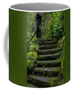The Mystery Of The Black Door Coffee Mug