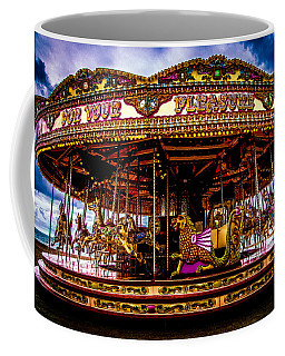 Coffee Mug featuring the photograph The Mystical Dragon Chariot by Chris Lord