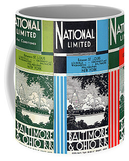 The National Limited Collage Coffee Mug