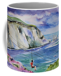The Needles Isle Of Wight In England  Coffee Mug by Geeta Biswas