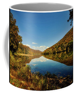 The New River In Autumn Coffee Mug by L O C
