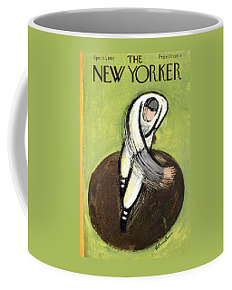 The New Yorker Cover - April 13th, 1957 Coffee Mug