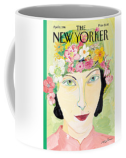 The New Yorker Cover - April 8th, 1996 Coffee Mug