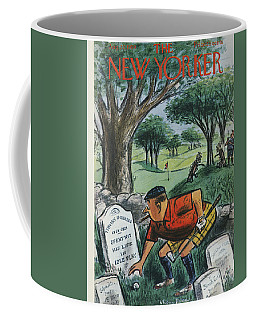 New Yorker Cover - August 22nd, 1959 Coffee Mug