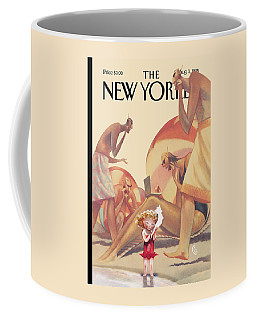 The New Yorker Cover - August 3rd, 1998 Coffee Mug