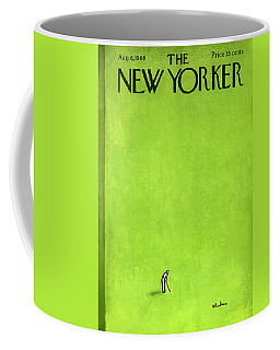 The New Yorker Cover - August 6th, 1966 Coffee Mug