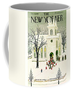 The New Yorker Cover - December 18th, 1948 Coffee Mug