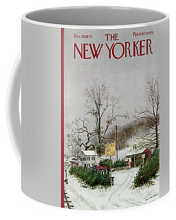 The New Yorker Cover - December 19th, 1970 Coffee Mug