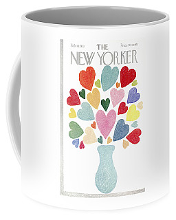 The New Yorker Cover - February 10th, 1973 Coffee Mug