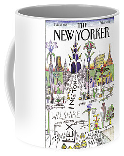 The New Yorker Cover - February 13th, 1995 Coffee Mug