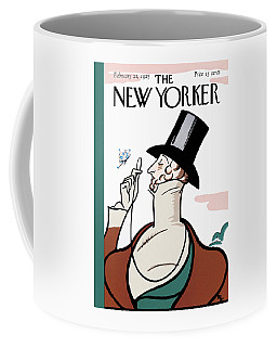 The New Yorker Cover - February 21st, 1925 Coffee Mug