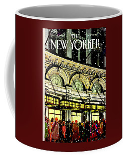 The New Yorker Cover - January 18th, 1988 Coffee Mug