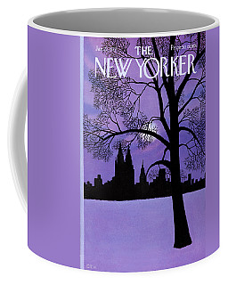 The New Yorker Cover - January 22nd, 1972 Coffee Mug