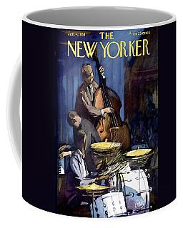 The New Yorker Cover - January 4th, 1958 Coffee Mug