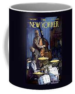 The New Yorker Cover - January 4th, 1958 Coffee Mug