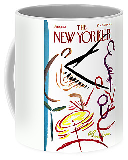 The New Yorker Cover - January 6th, 1968 Coffee Mug