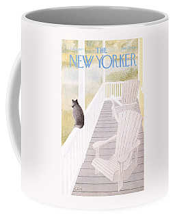 The New Yorker Cover - July 18th, 1977 Coffee Mug
