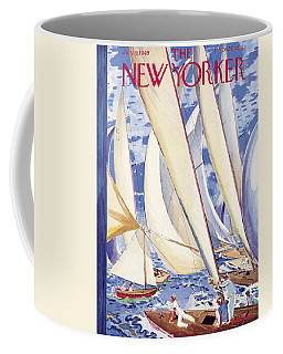The New Yorker Cover - July 9, 1949 Coffee Mug