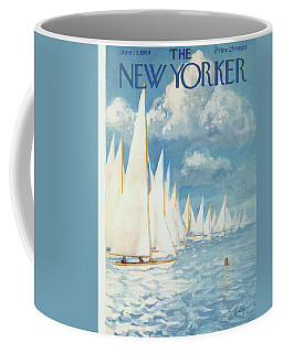New Yorker Cover - June 13th, 1959 Coffee Mug