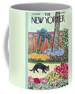 New Yorker Cover - June 18, 1960 Coffee Mug