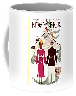 New Yorker Cover - June 24th, 1933 Coffee Mug