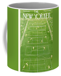 The New Yorker Cover - June 25th, 1960 Coffee Mug