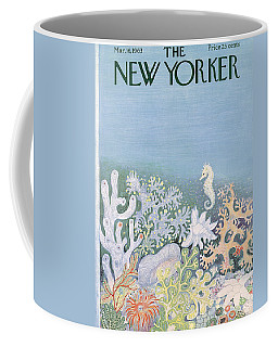 New Yorker Cover - March 16th, 1963 Coffee Mug