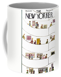 The New Yorker Cover - March 17th, 1975 Coffee Mug