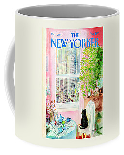 The New Yorker Cover - March 1st, 1982 Coffee Mug