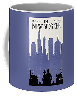 The New Yorker Cover - March 21st, 1925 Coffee Mug