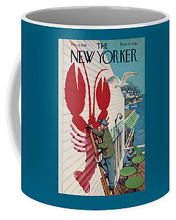 The New Yorker Cover - March 22nd, 1958 Coffee Mug