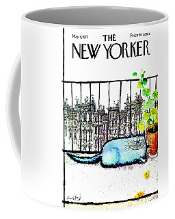 The New Yorker Cover - May 6th, 1972 Coffee Mug